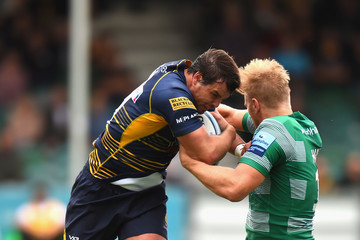 Francois Venter Worcester Warriors vs. Newcastle Falcons - Gallagher Premiership Rugby