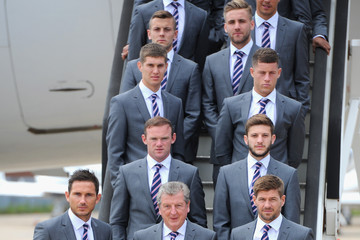 Frank Lampard Roy Hodgson The England Team Depart for the 2014 Brazil World Cup