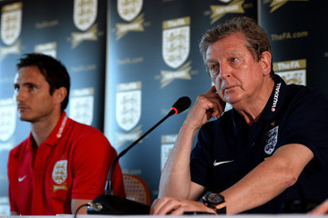 Frank Lampard Roy Hodgson England Training Session and Press Conference