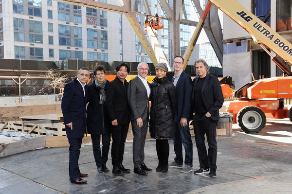 The Shed Announces First Seven Commissions Of 2019 Inaugural Season [shed announces first seven commissions,motor vehicle,vehicle,transport,workwear,car,luxury vehicle,team,alex poots,frank mccourt,maureen mahon,chen shi-zheng,commissions,l-r,the shed,season,season]