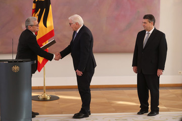 Frank-Walter Steinmeier Gauck Appoints New Foreign Minister, Shifts In Other Cabinet Posts