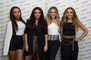 Perrie Edwards, Jesy Nelson, Leigh-Anne Pinnock and Jade Thirlwall of Little Mix attends the Frankie and Benny's Rays of Sunshine Concert at the Royal Albert Hall on June 7, 2015 in London, England.