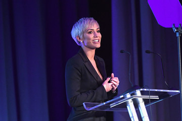 Frankie Bridge Prince Harry Attends the Virgin Money Giving Mind Media Awards
