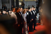 "Cast and crew of Frankie attends the screening of ""Frankie"" during the 72nd annual Cannes Film Festival on May 20, 2019 in Cannes, France."