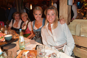 Franziska van Almsick Celebrities At Oktoberfest 2018 - Day 14