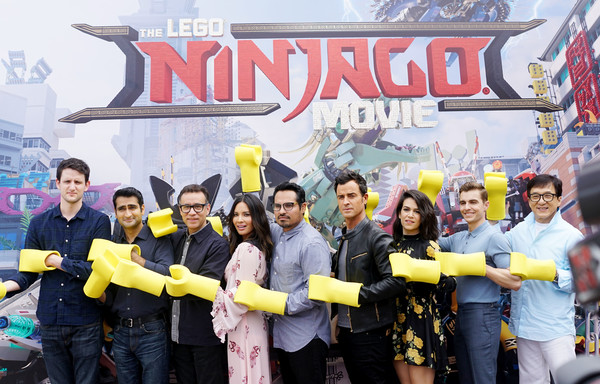Cast Photo Call for Warner Bros. Pictures' 'The LEGO Ninjago Movie'