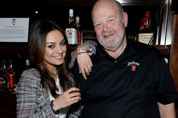 Fred Noe Mila Kunis And Jim Beam Make History Cocktail Hour