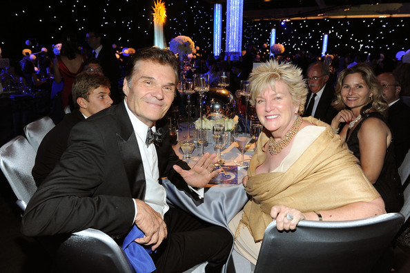 Fred Willard with friendly, Wife Mary Lovell