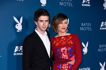"""Freddie Highmore Playboy And A&E """"Bates Motel"""" Comic-Con Party - Arrivals - Comic-Con International 2014"""