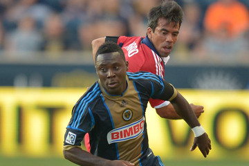 Freddy Adu Chicago Fire v Philadelphia Union