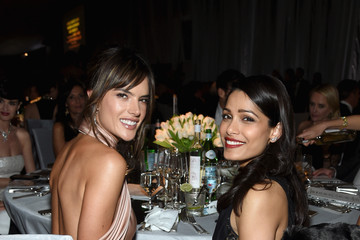 Freida Pinto 25th Annual Elton John AIDS Foundation's Oscar Viewing Party - Inside