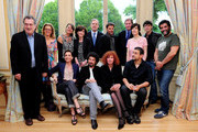 (L-R) Stephen Frears, Lucy Russell, Regine Hatchondo, Laurence Auer, Ambassador of France to the United Kingdom. Maurice Gourdault-Montagne, Francois Ozon, Antoine de Clermont Tonnerre, Catherine Corsini, Louis-Ronan Choisy, Kristin Scott Thomas, Radu Mihaileanu, Sabine Azema, Joann Sfar and Alain Attal attend the launch of Rendez-Vous with French Cinema at the Residence de France on June 9, 2010 in London, England.  Rendez-vous with French Cinema will take place from Tuesday 8th June to Friday 11th June, at London's Curzon Soho and the Cine Lumiere, plus one special screening at the BFI Southbank.