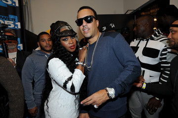 French Montana Backstage at Power 105.1's Powerhouse