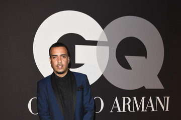 French Montana GQ and Giorgio Armani Grammy Afterparty