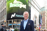 Richard Thompson, Chief Executive Officer of Freshpet, Inc visits the Opening Bell at NASDAQ MarketSite on November 7, 2014 in New York City.