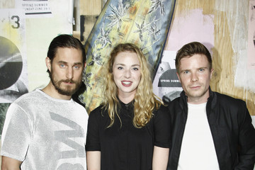 Freya Mavor Y-3 Spring/Summer 2015 - Front Row - Paris Fashion Week - Menswear S/S 2015