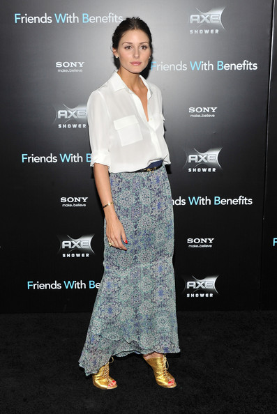 "Olivia Palermo attends the ""Friends with Benefits"" premiere at Ziegfeld Theater on July 18, 2011 in New York City."