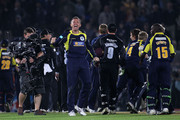 Dominic Cork of Hampshire celebrates victory during the Friends Provident T20 Final between Hampshire Royals and Somerset at The Rose Bowl on August 14, 2010 in Southampton, England.