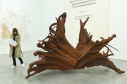 General view of artworks during the Frieze London 2019: Ai Weiwei exhibition launch at the Lisson Gallery on October 01, 2019 in London, England.