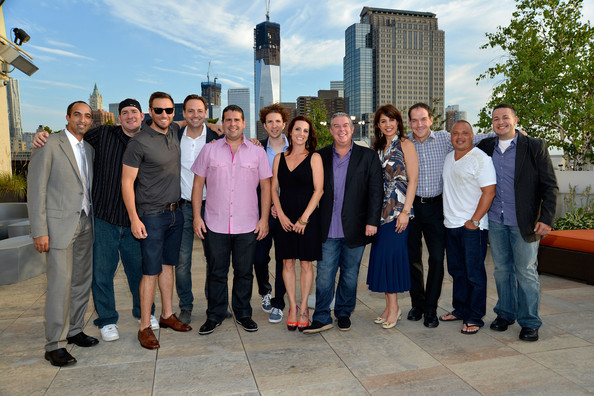 Froggy Elvis Duran and the Morning Show cast and crew attend Z100's ...
