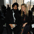 Meredith Melling-Burke and Waris Ahluwalia Photos