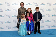 """Camilla Rutherford attends a celebrity singalong from """"Frozen"""" at the Royal Albert Hall on November 17, 2014 in London, England."""