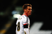 Scott Parker of Fulham is seen during the Sky Bet Championship match between Fulham and Huddersfield Town at Craven Cottage on November 8, 2014 in London, England.