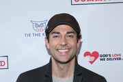 "Zachary Levi attends the opening night of ""Fully Committed"" at Lyceum Theatre on April 25, 2016 in New York City."