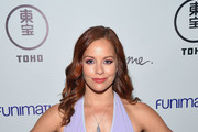 """Actress Amy Paffrath attends Funimation Films presents """"Your Name."""" Theatrical Premiere in Los Angeles, CA at Yamashiro Hollywood on March 23, 2017 in Los Angeles, California."""