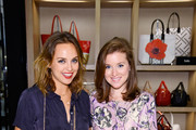 Kelly Framel (L) and Erin Framel attend Furla X The Glamourai at Bloomingdale's on June 19, 2014 in Short Hills, New Jersey.