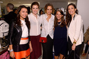 (L-R) Susan Rutenberg, Erin Framel, Kelly Framel, Marissa Galante and Erica Russo attend Furla X the Glamourai at Bloomingdale's 59th Street Store on June 12, 2014 in New York City.