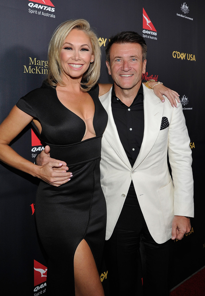 Kym Johnson appeared in�G'Day the USA Los Angeles Black Tie Gala alongside her husband�Robert Herjavec