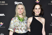 Laura Brown and Michelle Dockery attend G'Day USA 2020   Standing Together Dinner at the Beverly Wilshire Four Seasons Hotel on January 25, 2020 in Beverly Hills, California.