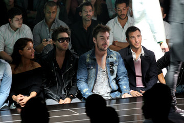 Jared Leto G Star - Front Row - Spring 2010 MBFW
