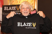Robert Morse attends GBK 2015 Pre-Oscar Awards luxury gift lounge on February 21, 2015 in Los Angeles, California.
