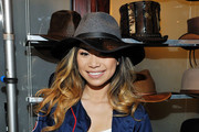 Singer -songwriter Jessica Sanchez attends the GBK Pre Grammy Lounge at Tom's Urban at L.A. Live on February 14, 2016 in Los Angeles, California.