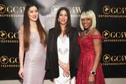 Board Chair of GC4W, Summer YL, Designer Rebecca Minkoff and Founder and CEO of GC4W, Lilian Ajayi-Ore attend the GC4W Entrepreneurship Ball at The Harvard Club on March 1, 2019 in New York City.