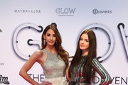 Branda Black and Soraya attend the GLOW - The Beauty Convention on May 13, 2017 in Duesseldorf, Germany.