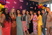 Kia Stevens, Betty Gilpin, Britt Baron, Kimmy Gatewood, Jackie Tohn, Alison Brie, Rebekka Johnson, Ellen Wong, Gayle Rankin and Marianna Palka attend the 'GLOW' Season 3 Special Screening At The Wing LA at The Wing on August 06, 2019 in West Hollywood, California.
