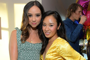 Britt Baron and Ellen Wong attend the 'GLOW' Season 3 Special Screening At The Wing LA at The Wing on August 06, 2019 in West Hollywood, California.