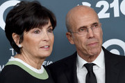 Jeffrey Katzenberg and wife Marilyn Katzenberg arrive at the GLSEN Respect Awards at the Beverly Wilshire Four Seasons Hotel on October 19, 2018 in Beverly Hills, California.