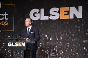 Howard Schultz attend the GLSEN Respect Awards at the Beverly Wilshire Four Seasons Hotel on October 19, 2018 in Beverly Hills, California.
