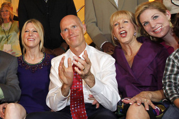Allison Guimard GOP Candidate For Governor In Floria Rick Scott Gatherings With Supporters