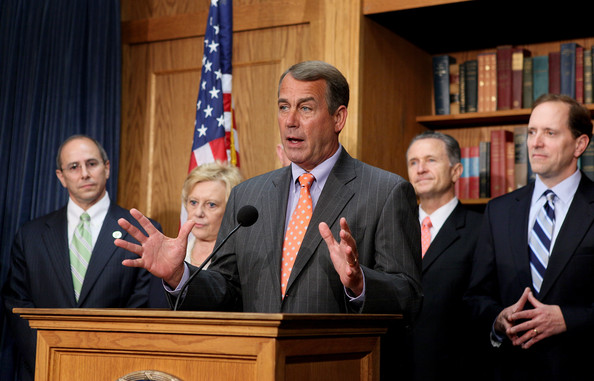 Speaker of House John Boehner, GOP, Already Creates 39,000 Jobs in November