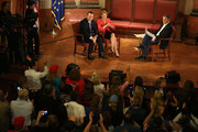 Republican presidential candidate Sen. Ted Cruz (R-TX) and his Vice Presidential candidate, former Hewlett-Packard chief executive Carly Fiorina, participate in a taping of Fox News Channel's The Sean Hannity Show at the Indiana War Memorial on April 29, 2016 in Indianapolis, Indiana. Cruz continues to campaign leading up to the state of Indiana's primary day on Tuesday.