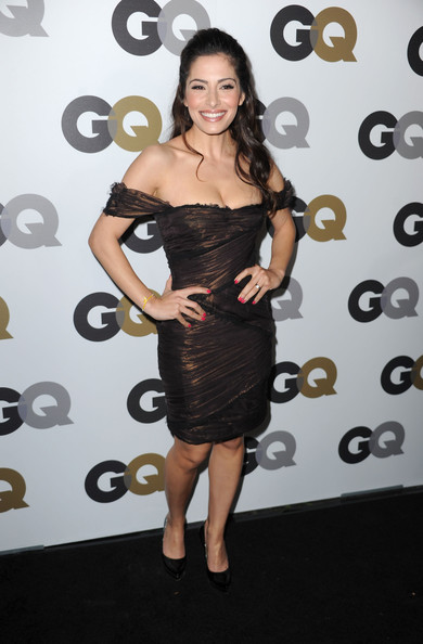 "Actress Sarah Shahi arrives at the 15th annual ""GQ Men of the Year"" party held at Chateau Marmont on November 17, 2010 in Los Angeles, California."