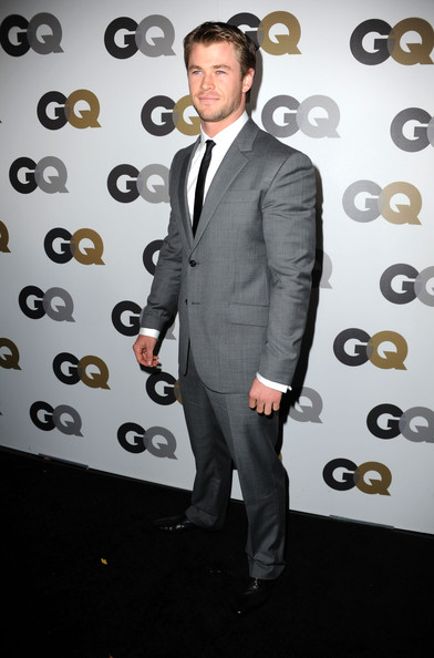 "Actor Chris Hemsworth arrives at the 15th annual ""GQ Men of the Year"" party held at Chateau Marmont on November 17, 2010 in Los Angeles, California."