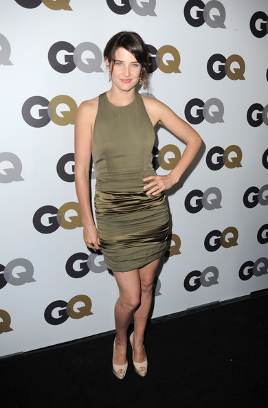 "Actress Cobie Smulders arrives at the 15th annual ""GQ Men of the Year"" party held at Chateau Marmont on November 17, 2010 in Los Angeles, California."