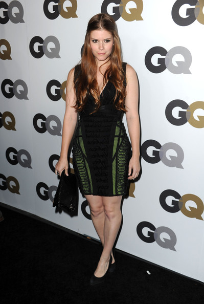 "Actress Kate Mara  arrives at the 15th annual ""GQ Men of the Year"" party held at Chateau Marmont on November 17, 2010 in Los Angeles, California."