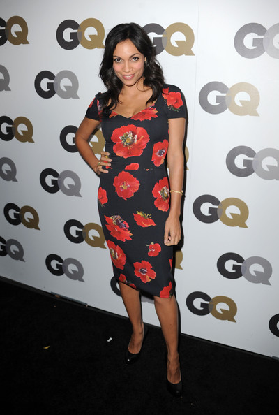 "Actress Rosario Dawson arrives at the 15th annual ""GQ Men of the Year"" party held at Chateau Marmont on November 17, 2010 in Los Angeles, California."